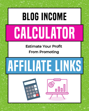 affiliate income calculator