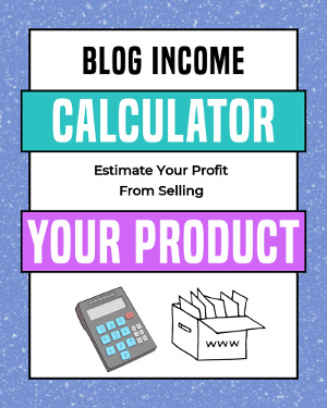 products income calculator