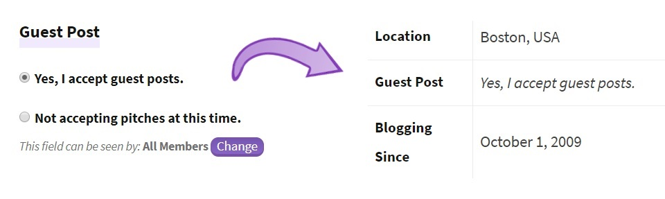 accept guest posts on your blog