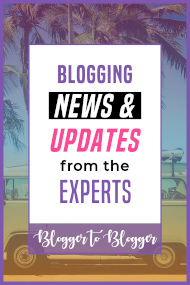 blogging news and updates