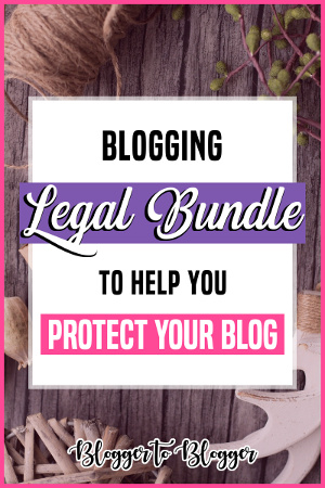 Blogging Legal Bundle