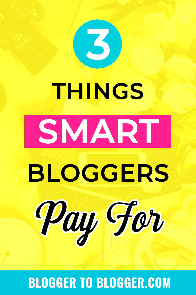 Blogging Expenses that Are Worth Paying For