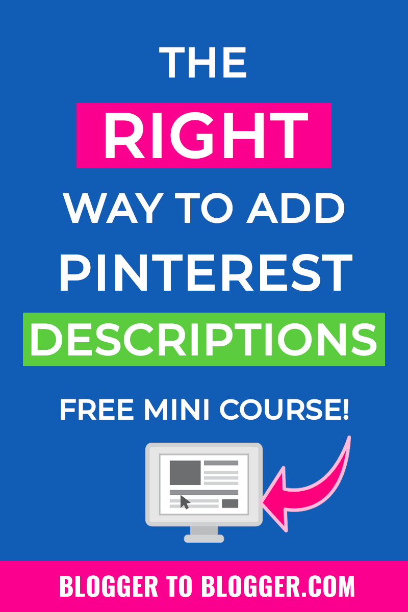 Savvy Pinterest Tips for bloggers free course