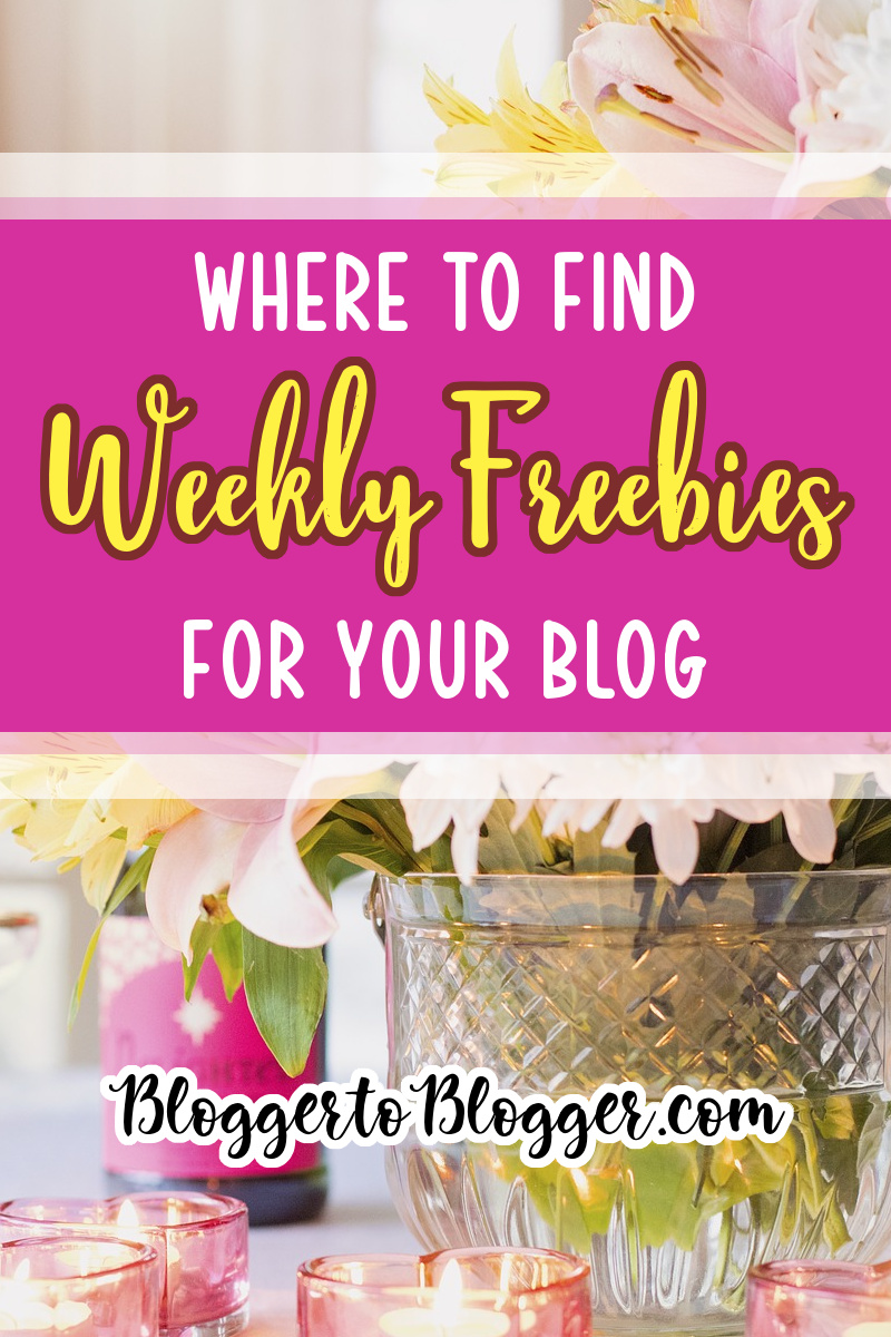 blogging freebies pin image
